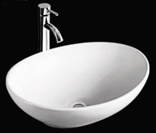Modern Small Mini Oval Counter Top Vanity Ceramic Bowl Basin Sink 400mm | eBay