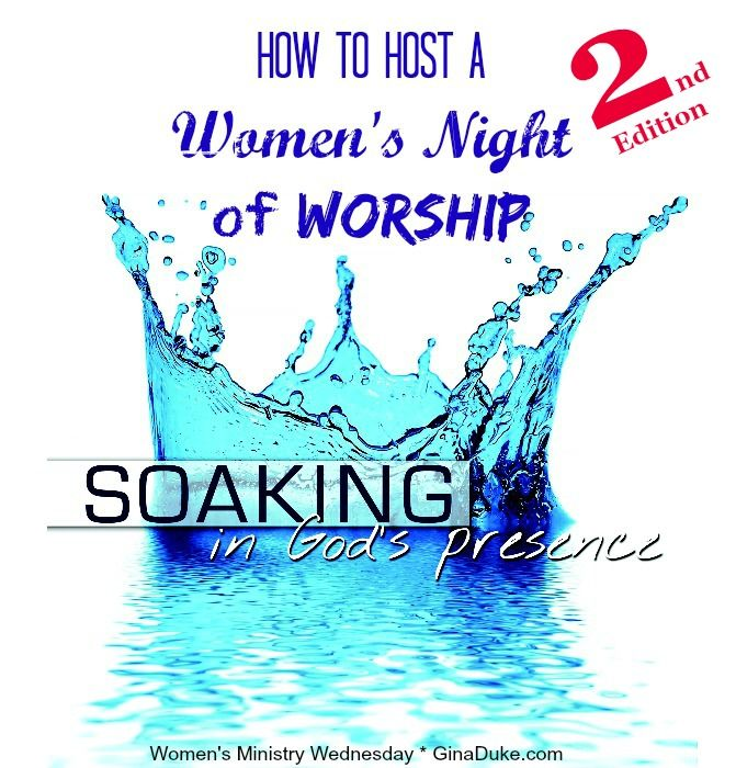 Youth Pastor Church Nite: Women's Ministry, Worship Night