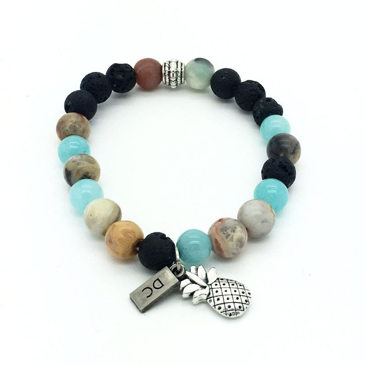 Courage & Balance Essential Oil Bracelet