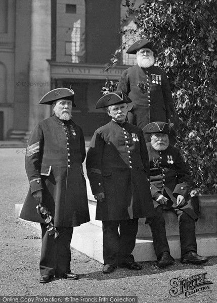PAST LIVES: Chelsea Pensioners, c.1898