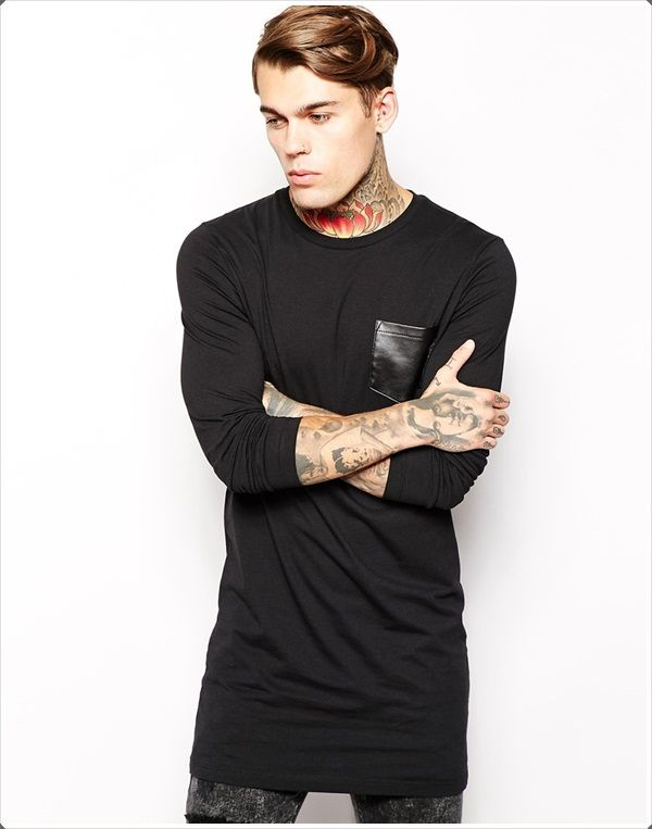 Roll up your #sleeves to show off your many #tattoos plus the #pocket is a nifty addition