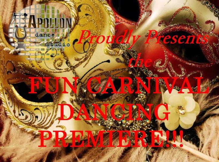 Apollon dance studio...: Fun Carnival Dancing Premiere!!!