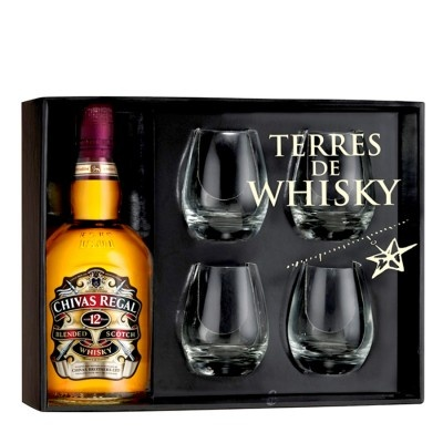 Coffret Whisky Chivas