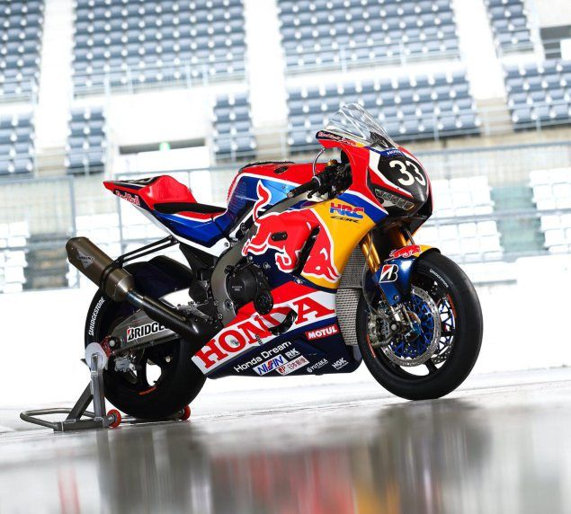 Up Close With The Red Bull Honda Suzuka Race Bike With Images