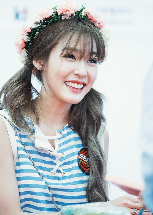 Tiffany Hwang's See Through Bangs