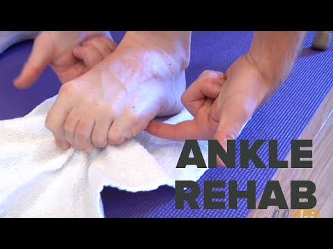 Best Ankle Rehabilitation Exercises For Those Recovering From Ankle Injury - YouTube