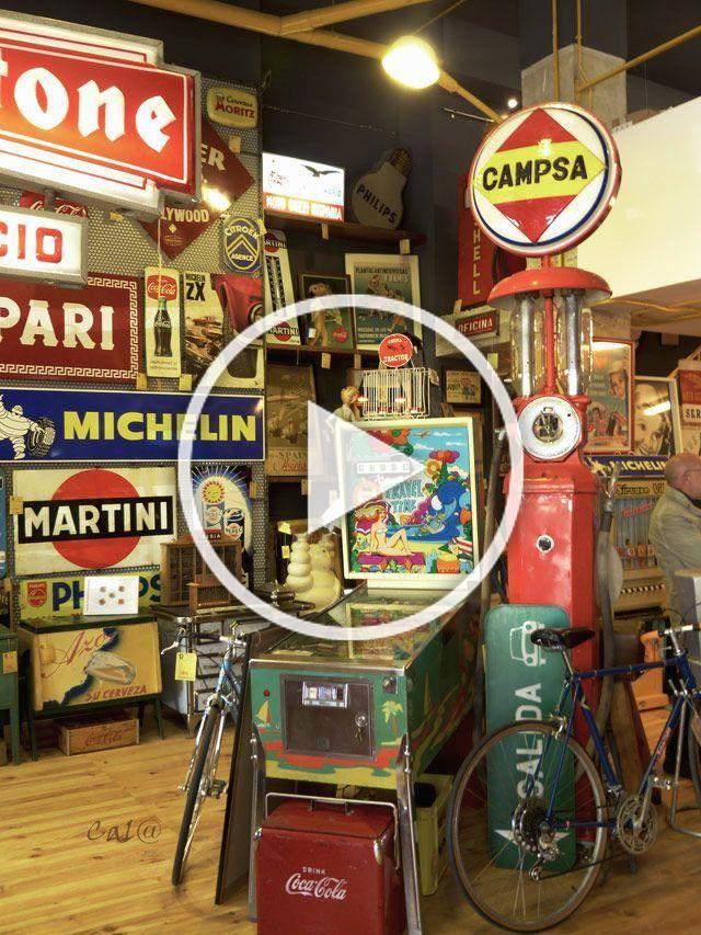 Tienda En Avd Alfahuir Valencia Reviviendo El Pasado Tienda Retro Vintage Retroriginal In 2020 Man Cave Garage Retro Garage Art