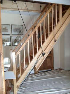 Image Result For Loft Pull Down Stairs Rustic Attic Renovation Attic Apartment Attic Stairs