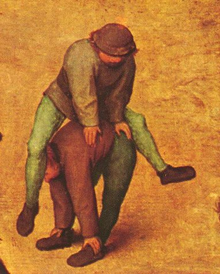 Children's Games (detail) by Pieter Bruegel, the Elder 1520-1569 https://www.pinterest.com/wallerburrer/pieter-bruegel-the-elder/