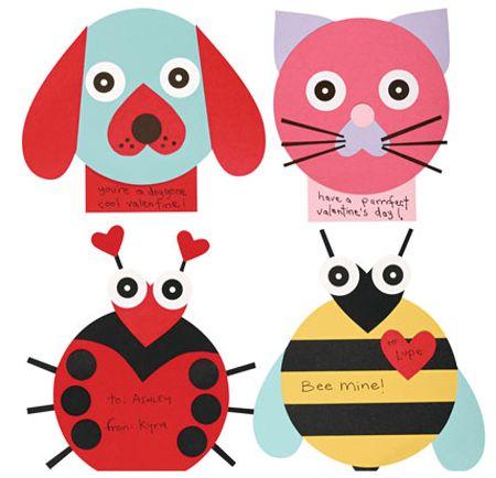 Bee Mine is my fave!Valentine Crafts, Valentine Day Crafts, Valentine Day Cards, Cards Kits, Heart Shape, Valentine Cards, Kids Crafts, Valentine Ideas, Animal Cards