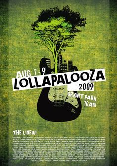 lollapalooza poster - Google Search