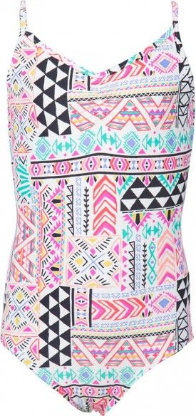 Luxe one piece swimsuit for teen girls from billabong. Love the print