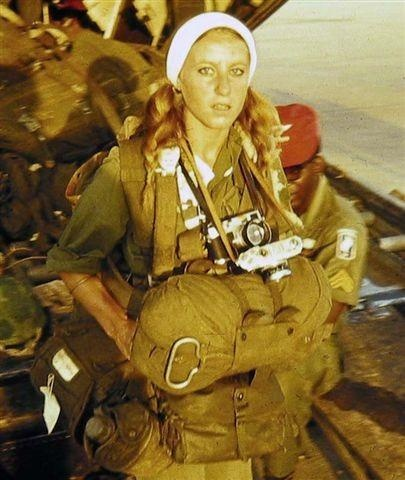 Catherine Leroy reporter de guerre française