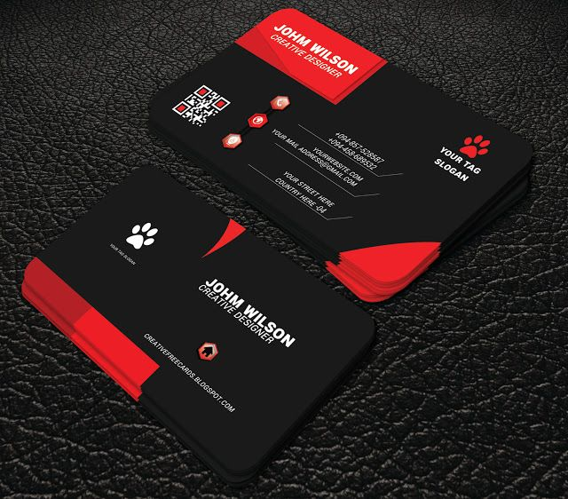 94 best professional free business cards images on pinterest black colour profesional business card professional business card wajeb Choice Image