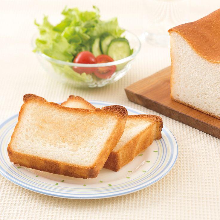 もちもち米粉の食パン   だいどこログ[生協パルシステムのレシピサイト]