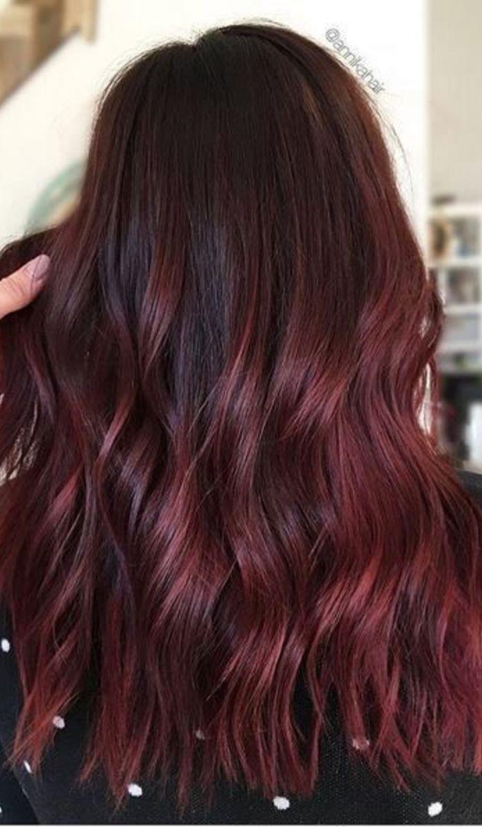 Hair Colors Broux Idee Couleur Cheveux Cheveux Bourgogne Coiffure Couleur