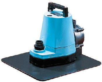 A pool cover pump helps to remove any water that is setting on the pool cover, extending the life of your cover.