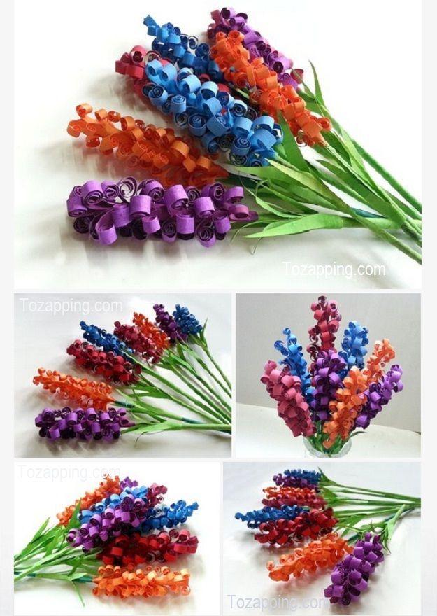 2743 best images about manualidades on pinterest - Como hacer flores de papel ...