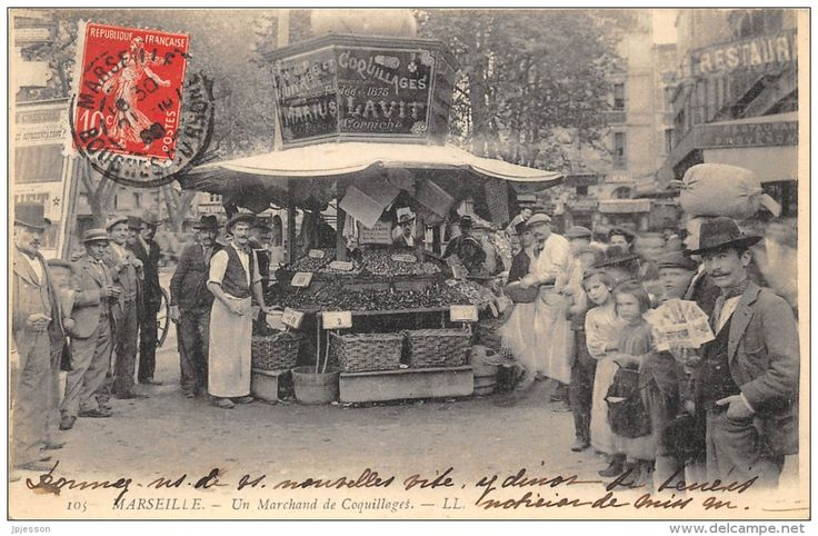 Marchand de Coquillages