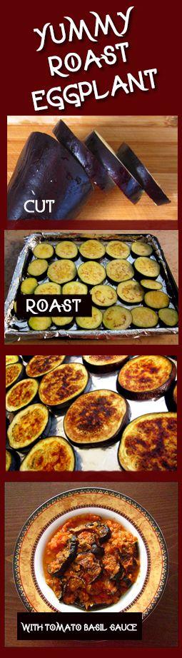 Roasted egglant