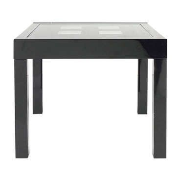 Table extensible COMETE II coloris noir - pas cher ? C'est sur Conforama.fr - large choix, prix discount et des offres exclusives Table de cuisine sur Conforama.fr