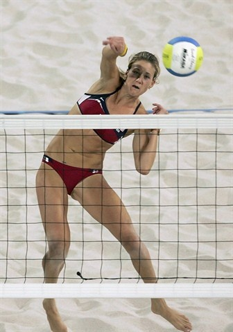 Meet the extraordinary Kerri Walsh Jennings. A professional beach volleyball player and