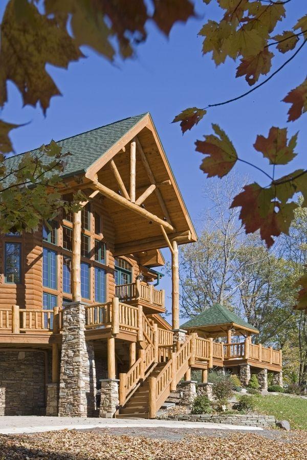 Log Home Photos | Wyndham Home Tour › Expedition Log Homes, LLC