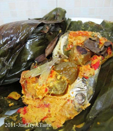 Just Try & Taste: Pepes Ikan Selar