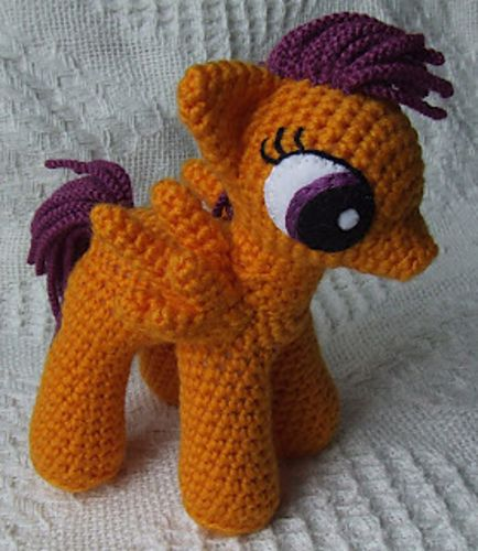 Ravelry: My Little Pony: Friendship is Magic School Age Ponies pattern by Knit One Awe Some, free pattern