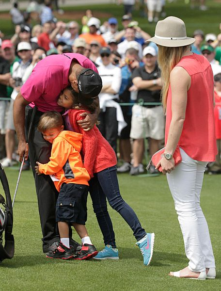 Masters 2015:  Tiger Woods children, daughter Sam and son Charlie, showed up at Augusta on Tuesday. The Masters at Augusta National | Golf.com