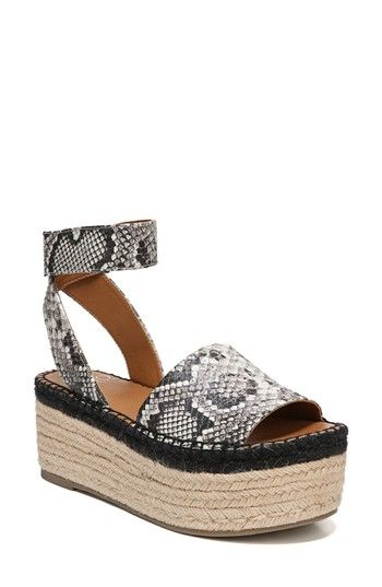439c61839f1 Free shipping and returns on SARTO by Franco Sarto Maisi Platform  Espadrille Sandal (Women) at Nordstrom.com. An espadrille-wrapped platform  adds ...