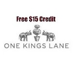 Saving 4 A Sunny Day: Downstairs Sale At One Kings Lane And Free $15 Credit