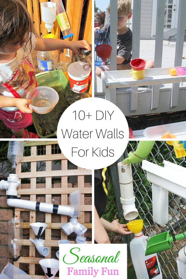 Diy patio water wall the interior frugalista diy patio water wall - 10 Diy Water Walls For Kids Great Summer Fun Summerfun Waterfun