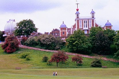 Greenwich Park, London - one of London's famous royal parks, part of the Greenwich World Heritage Site,