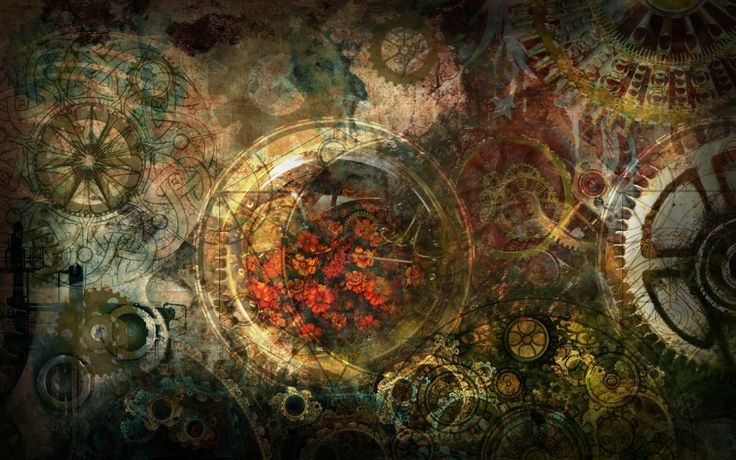 30 awesome steampunk wallpapers