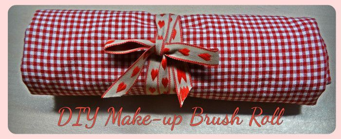 DIY Make-up Brush Roll