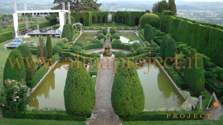 110705 - ALMA PROJECT @ Villa Gamberaia - Sting stage 090 (work in progress)