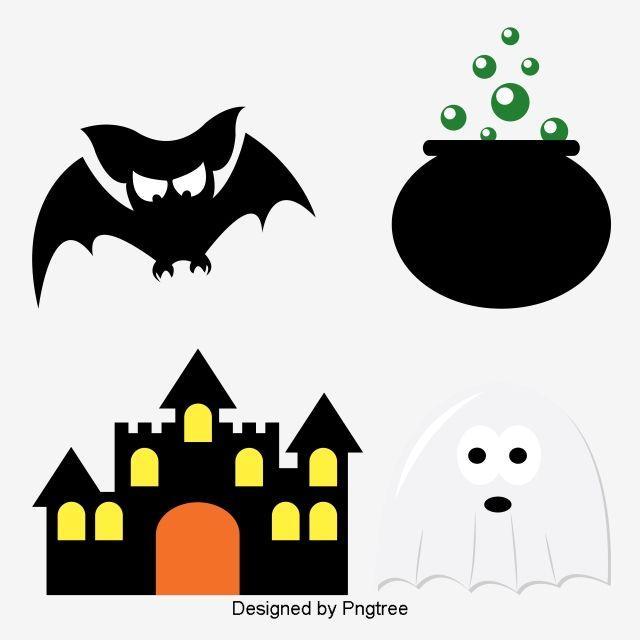Simple Cartoon Halloween Design Pattern Halloween Design Free Graphic Design Simple Cartoon