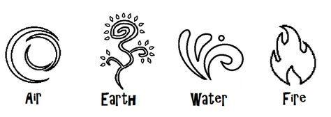 4 Elemental symbols by Zeldaboyz.deviantart.com on @deviantART