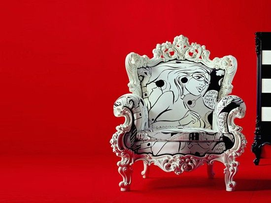 Chairs with Attitude  By Creazioni of Italy