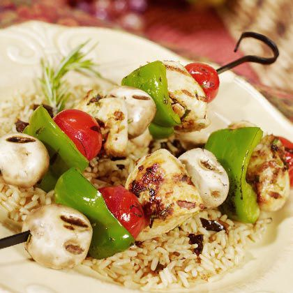 Tuscan-Style Grilled Chicken Kebabs | Top 25 Summer BBQ Recipes | Food | Disney Family.com