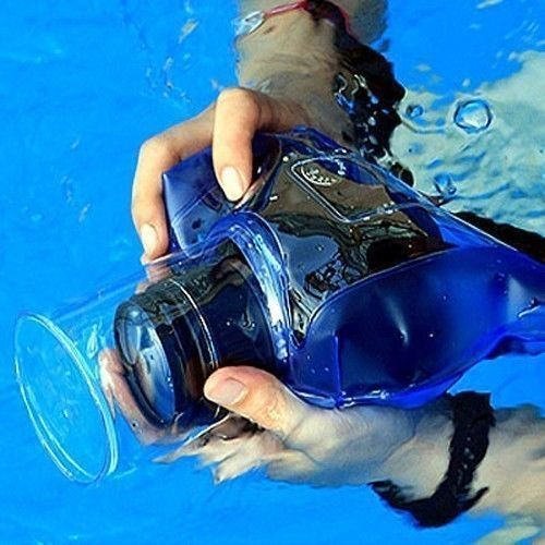 CANON Rebel T5i T4i T3i T2i T1i SL1 UNDERWATER HOUSING WATERPROOF CASE COVER BAG #FusionFNC