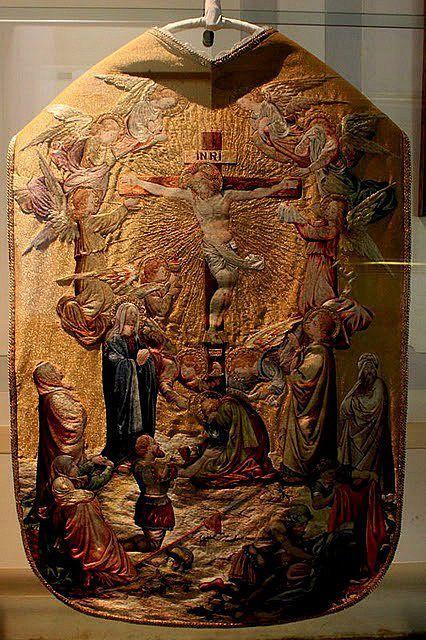 Casulla regalo de S. Pío X a la catedral de Treviso; realmente impresionante.