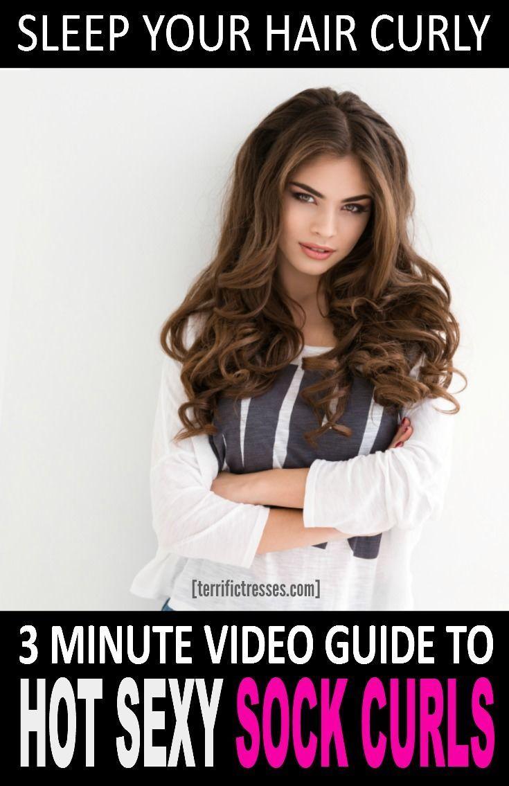 best 25+ sock curls ideas on pinterest | bun curls, curling hair