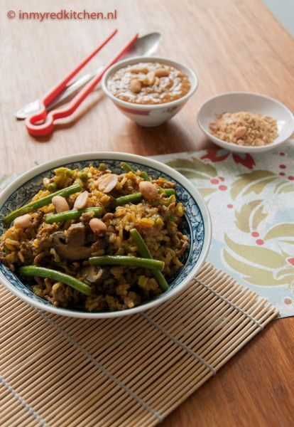 Heerlijk recept voor nasi zonder pakjes! - in my Red Kitchen