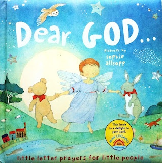 Dear God . . .(Max Lucado) really great children's bedtime prayer book! Check out this blog for other children's books! (christian, prayer, childrens illustration, picnic, elephant, moon)