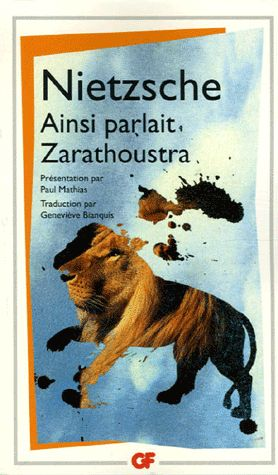Ainsi parlait Zarathoustra par Friedrich Nietzsche