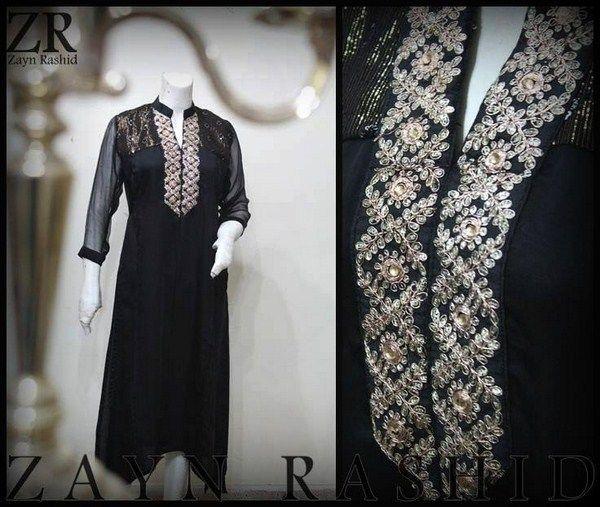 Zayn Rashid Casual Dresses 2014 For Women