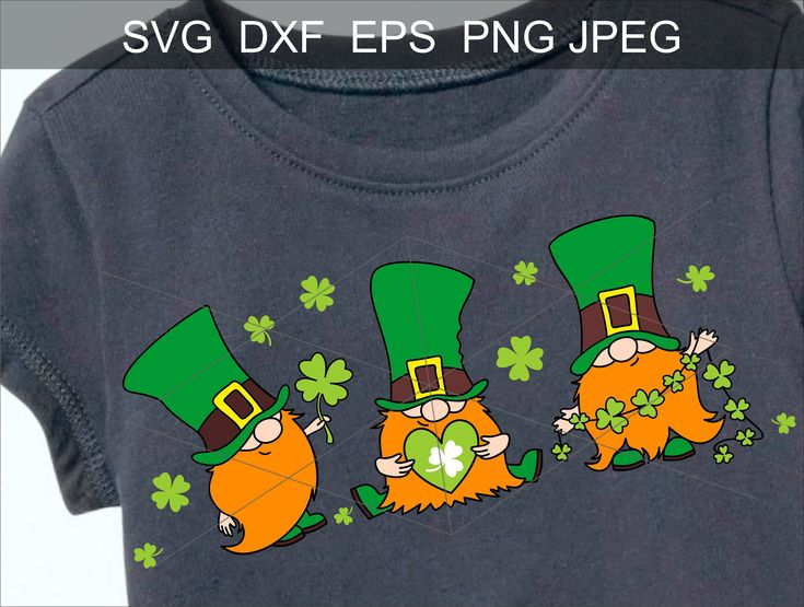 Download St Patricks Day Svg Irish gnomes clipart png sublimation ...