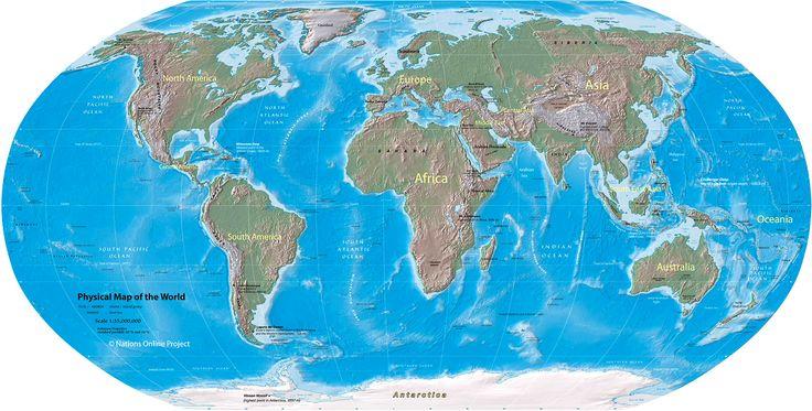 Vi har 7 verdensdeler: Afrika, Asia, Europa, Nord-Amerika, Sør-Amerika, Oseania og Antarktis. Afrika Afrika er den nest største verdensdelen på jorda. Det største landet i Afrika er Algerie. Mange ...